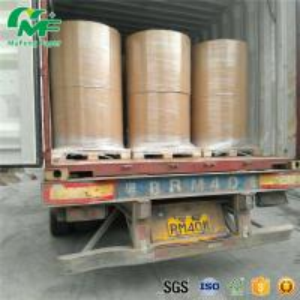 Nontoxic 55gsm Thermal Paper Jumbo Rolls , Jumbo Paper Roll High Rubbing Resistance