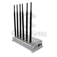 Buy cheap 6 Channel Design Anti Cell Phone Signal Blocker High Output Power Continuous Working product