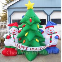 2015 Hot Sale Inflatable Christmas Tree Snowman