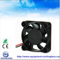 Buy cheap Portable plastic small cooling fan , dc axial compact fan 40mm x 40mm x 15mm product