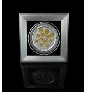 Poder más elevado 15W CCT 2800K - 6000K 970 - lámpara de acrílico de la haba de la óptica LED de la aleación de aluminio 1100lm