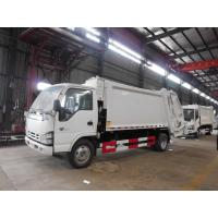 Buy cheap 120hp Back Loader Garbage Truck , 5m3 Isuzu 600P 5cbm Refuse Compactor Waste Truck product