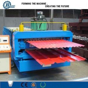 Buy cheap Rollo de la capa doble de la eficacia alta que forma la máquina con el sistema de control automático del PLC product