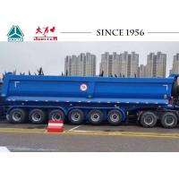 Buy cheap 70 Tons U Shape 6 Axle Tipper Trailer, Dump Trailer For Carry Rock, Aggregate from wholesalers