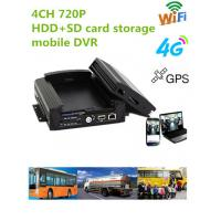 Buy cheap 720P Resolution Full HD Vehicle DVR With 3 / 4G GPS WIFI G- Sensor , 10V - 36V Power product