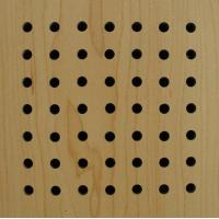 China Wooden  Acoustic Panel(perforated) on sale