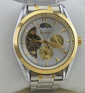Swiss Mechanical Watches Tourbillon Automaton Stainless Steel Mechanical Watch