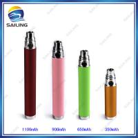 China Black Ecig Atomizer Battery 900mah Ego Cigarette Passthrough Battery on sale
