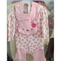 Buy cheap 3piece  newborm cotton long sleeve pajamas product