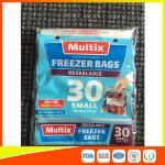 マイクロウェーブ安全なフリーザーのジッパー ロックは使用されるスーパーマーケット/世帯のために袋に入れます