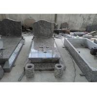 Buy cheap Classic Granite Memorial Headstones Carved / Custom Surface SGS Approved product
