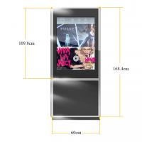 Buy cheap Floor Standing Double Sided Display with Dual Screen , HD LCD Advertising Player 42 inch product