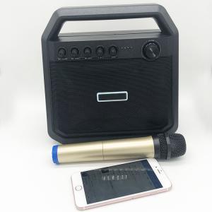 China Outdoor Battery Powered Bluetooth Speaker Bluetooth Amplifier Karaoke TWS Speaker Box on sale