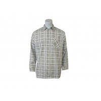 China 180 GSM 100% Cotton Flannel Checked Shirt on sale