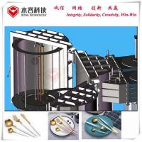Buy cheap Plastic Tableware Coating Vacuum Metalizing Machine With Stainless Steel 304 / 316 Material product