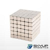 Buy cheap Neo Cube Dia 5mm Magnetic Neodymium Block N52 Grade Magnet from wholesalers