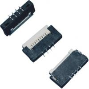 Buy cheap pernos H 1.5m m del conector 4 de la echada FPC de 1,0 milímetros encima del tipo el soldar del contacto ZIF product