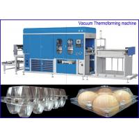 PET Plastic sheet Egg Containers Vacuum Thermoforming Machine , big forming area