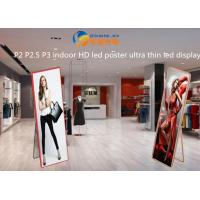 Buy cheap Mirror LED screen Ultra Thin LED Display indoor advertising machine P3 indoor HD led poster from wholesalers