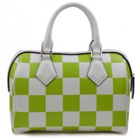 Buy cheap Fashion leather handbag new spring and summer grid embossed leather bag product