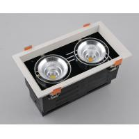 China Square LED Grille Lamps, one/two/three/four heads for option, CE/RoHS/SAA, 2*15W, Citizen, 24º/60º, CRI>82, 3(4/5)000K wholesale