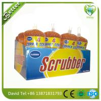 Buy cheap hot sell cheap price copper cleaning wool ball/mesh scourer pot cleaning ball product