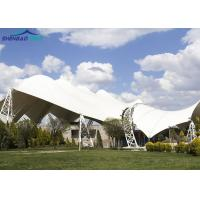 Buy cheap Impact Resistance 950g Tensile Roof Structures / Car Parking Tensile Structure from wholesalers