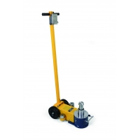 Buy cheap Telescopic 30Ton Pneumatic Hydraulic Jack Two Stages product