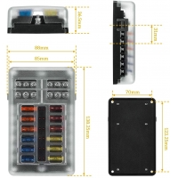 Buy cheap 12 Volt Automotive Fuse Box Holder Waterproof with Negative auto inline fuse holder product