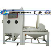 Buy cheap Suction Type Manual Dry Sandblast Cabinet 1200*1200*750mm Working Chamber Size product