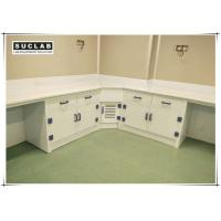 Buy cheap Acid And Alkali Resistant PP Laboratory Casework With Corner Cabinet product