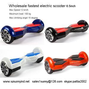 Buy cheap Individu de roue de Smart 2 équilibrant le chapiteau INTELLIGENT de bluetooth de la CE ROHS 6.5inch de SCOOTER d'Electri product