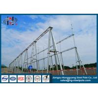 Buy cheap 110KV Hot Dip Galvanized Substation Steel Structures for Power Substation / Switch Yard product