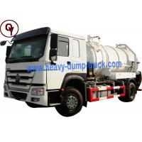 Quality 290HP OEM 6 Wheel Stainless Steel Water Truck with Level Sensor for sale