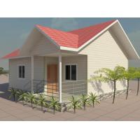 Buy cheap Prefab Villa , Two Bedroom Modular Homes South Africa For Social Housing Projects product