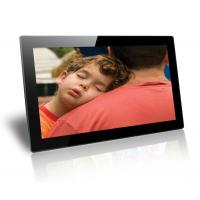 Buy cheap Black 18.5 Inch Baby / Friends Wall Mounted Digital Photo Frame Supports SD / MMC Cards product