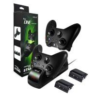 Buy cheap High Quality Charging Dock Dual Charger Station with 2 x1200mAh Rechargeable Batteries and USB Cable for Xbox One product