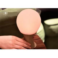 China Decorative Colourful battery powered silicone night light lamp for childrens on sale