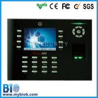Built-in Camera Fingerprint Based Time Tracking System +Access Control Bio-iclock600