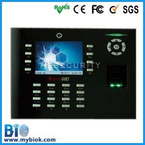 Buy cheap Temps et assistance biométriques intégrés facultatifs Syste Bio-Iclock680 d'entreprise de WIFI/GPRS product