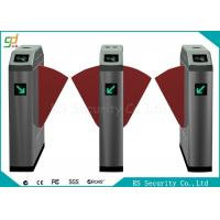 Double Wing Intelligent Flap Barrier Gate Metro Pedestrian Gym Turnstile
