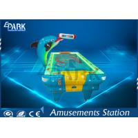 Buy cheap Indoor Video Arcade Game Machines Dolphin Shape Air Hockey Table product