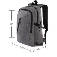 Buy cheap Mens Anti Theft Business Laptop Backpack , Durable USB Charging Backpack product