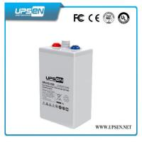 Buy cheap White Color OPzV Battery 2V 3000Ah more than 1500 Cycles at DOD 80% product