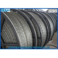 China Anti Twisting Wire Galvanized Steel Line Stringing Rope for Overhead Transmission Line 13mm 120kN on sale