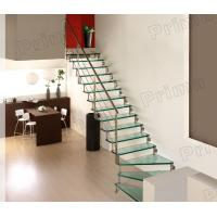 Buy cheap High Grade Stainless Steel Railing Glass Stair Case product