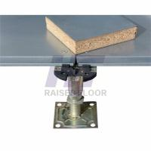 Buy cheap Woodcore Office Encapsulated Raised Floor Fireproof Corner Lock Type product
