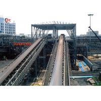 China Large Angle Vertical Sidewall Conveyor Belt Calcined Petroleum Coke Lifting Material on sale