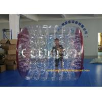 Buy cheap Kids Human Hamster Clear Inflatable Body Rolling Ball In Aqua Park 2.4 * 2.2 * 1 from wholesalers