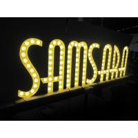 LED Circus Letter Lights , Metal Letter With Lights Customized Size / Color